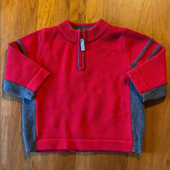 Hanna Andersson+Sz 70/6-12 months Red Sweater